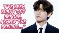 BTS tổ chức họp báo quảng bá 'BE': V chia sẻ từng mất hứng thú làm việc