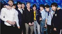 9 lần BTS nổi bật trên sân khấu cùng các đồng nghiệp tài năng
