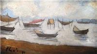 Triển lãm bức tranh đặc biệt của họa sĩ Bùi Xuân Phái vẽ về Đà Nẵng