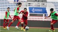 VIDEO: U22 Việt Nam tích cực tập luyện cho trận gặp Lào, bỏ xa U22 Thái Lan trên BXH