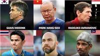 HLV Park Hang Seo vào top HLV xuất sắc nhất Châu Á