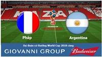 Dự đoán có thưởng World Cup 2018: Trận Pháp - Argentina (Vòng 1/8)