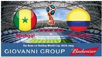 Dự đoán có thưởng World Cup 2018: Trận Senegal – Colombia