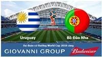Dự đoán có thưởng World Cup 2018: Trận Uruguay – Bồ Đào Nha (Vòng 1/8)