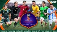 Kết quả Dự đoán có thưởng World Cup 2018: Trận Bồ Đào Nha - Tây Ban Nha
