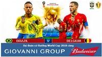 Dự đoán có thưởng World Cup 2018: Trận Brazil – Bỉ (Vòng tứ kết)