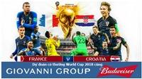 Dự đoán có thưởng World Cup 2018: Trận Pháp - Croatia (Chung kết)