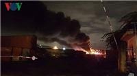 VIDEO: Khống chế vụ cháy kho sơn tại Khu Công nghiệp Hòa Cầm, Đà Nẵng