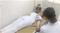 Ba điều dưỡng viên hiến máu cứu sống sản phụ nguy kịch