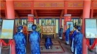 Lễ rước Long vị vua Hàm Nghi về Di tích Quốc gia Thành Tân Sở (Quảng Trị)