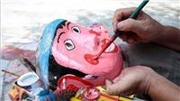 Cùng nghệ nhân dân gian làm đồ chơi vui Tết Trung thu 2020