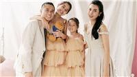 Gia đình Lưu Hương Giang - Hồ Hoài Anh 'lung linh' trong bộ ảnh mới