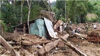 Vụ sạt lở đất ở Nam Trà My: Tìm thấy thêm hai thi thể nạn nhân ở thôn 1, xã Trà Leng, thêm điểm sạt lở ở xã Trà Mai