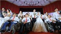 Lễ cưới tập thể 'Giấc mơ có thật' dành cho người khuyết tật, có hoàn cảnh khó khăn