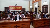 Dịch Covid-19: Hưng Yên giãn cách xã hội tại hai huyện Yên Mỹ và Khoái Châu từ ngày 10/2