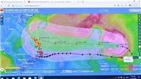 Đêm 13/11, vùng biển từ Hà Tĩnh đến Quảng Ngãi gió mạnh cấp 7-8, giật cấp 12, biển động rất mạnh
