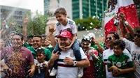 Cổ động viên Mexico 'bùng cháy' vì chiến thắng