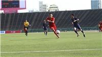 Hòa U22 Thái Lan 0-0, U22 Việt Nam đứng nhất bảng A