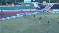 VIDEO: Bàn thắng và highlights SLNA 2-2 Sài Gòn