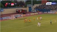 VIDEO Thanh Hoá vs HAGL: Xuân Trường sút phạt kỹ thuật, ghi bàn tuyệt đẹp