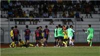 VIDEO: U15 Thái Lan vs U15 Malaysia đánh nhau ở chung kết U15 Đông Nam Á