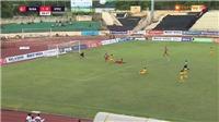 VIDEO: SLNA vs Viettel: Thẻ đỏ cho Janclesio vì vào bóng nguy hiểm với Thế Nhật
