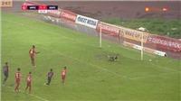 VIDEO: Hải Phòng vs Sài Gòn: Mpande sút hỏng 11m, HLV Trương Việt Hoàng tiếc nuối