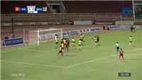 VIDEO U18 Đông Nam Á: Bàn thắng và highlights U18 Việt Nam 1-0 U18 Malaysia