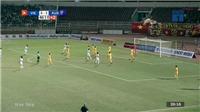 VIDEO Bàn thắng và highlights U18 Việt Nam 1-4 U18 Australia