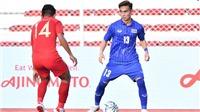 VIDEO U22 Thái Lan 0-2 U22 Indonesia: ĐKVĐ SEA Games thua bạc nhược