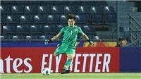 Xem lại sai lầm đáng tiếc của Tiến Dũng khiến U23 Việt Nam bị gỡ hòa