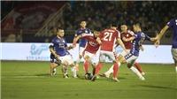 VIDEO bàn thắng và highlights TP.HCM 0-3 Hà Nội: Hiệp 2 bùng nổ