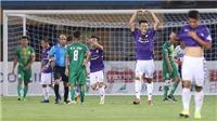 Quang Hải và Văn Quyết, Hà Nội thắng 7-0 trước Cần Thơ