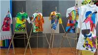 Một học sinh lớp 4 đoạt giải Nhất hội thi vẽ áo dài