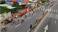 Quên tai nạn, tuyển thủ rút thắng ngoạn mục tại giải xe đạp HTV 2018