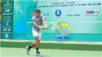Tay vợt số 1 Việt Nam Lý Hoàng Nam lên ngôi trên sân nhà