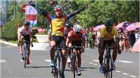 Thêm tay đua ngã gãy xương tại giải xe đạp HTV