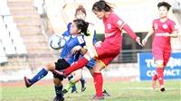Mưa gôn ở giải nữ VĐQG – Cúp Thái Sơn Bắc 2018