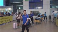 Sau kỳ tích, futsal nữ Việt Nam lặng lẽ về nước