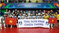 Thái Sơn Nam thất bại, futsal Việt Nam vẫn xác lập kỳ tích mới