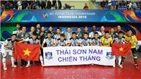 Futsal Việt Nam ngẩng cao đầu sau khi lập kỳ tích