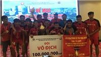 Nhà vô địch bóng đá phong trào miền Nam nhận thưởng 'khủng'