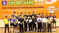 Việt Nam chỉ có HCĐ ở giải bóng bàn quốc tế Cây vợt vàng mở rộng 2018