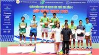 Vượt lò đào tạo Lý Hoàng Nam, chủ nhà vô địch VTF Junior Tour 4