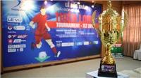 Giải bóng đá Thiên Long 2019: V-League thu nhỏ trên sân Thành Long