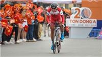 Tay đua Pháp thắng chặng đầu giải xe đạp lớn nhất Việt Nam