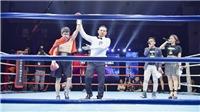 Võ sĩ Việt ca khúc khải hoàn ở giải boxing WBA Asia Boxing Title Match
