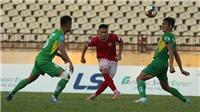 Đội của 'Mourinho Việt Nam' vô địch lượt đi giải hạng nhất