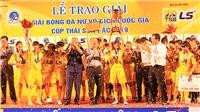 Huỳnh Như đưa TP.HCM 1 vô địch quốc gia lần thứ 4 sau 5 năm