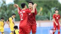 U22 Việt Nam 6-0 U22 Brunei: Hà Đức Chinh toả sáng như …Lukaku